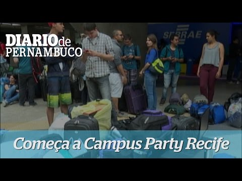 Primeiro dia da Campus Party Recife 2015