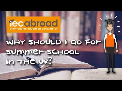 Why should I go for English summer school in the UK?