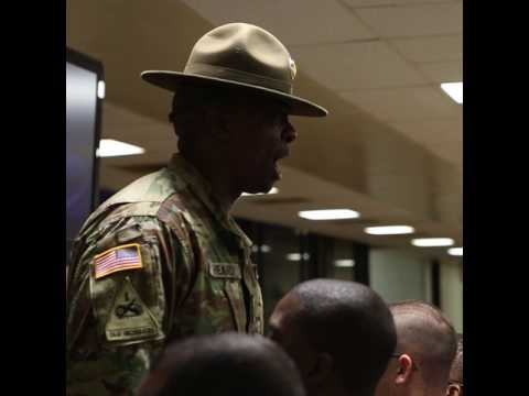 Drill Sergeants Make you a Strong Soldier