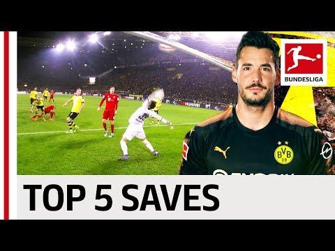 Roman Bürki - Top 5 Saves