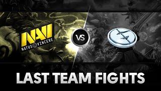 Last team fights by Na'Vi vs EG (Game 1) @Starseries X