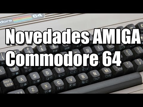 COMMODORE: NEW GAMES FOR C64 AND AMIGA