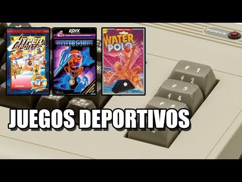 JUEGOS DEPORTIVOS COMMODORE 64