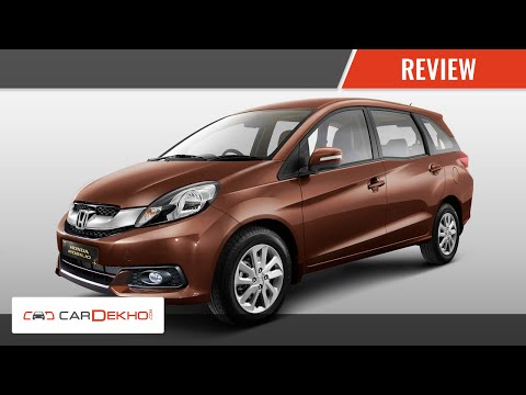 Honda Mobilio Review of Features- Interiors & Exteriors I CarDekho.com