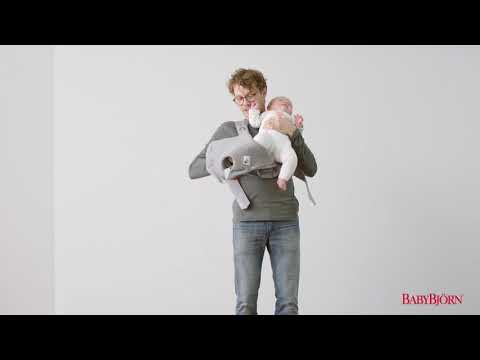 BABYBJÖRN - How to use the facing-out position on Baby Carrier Mini