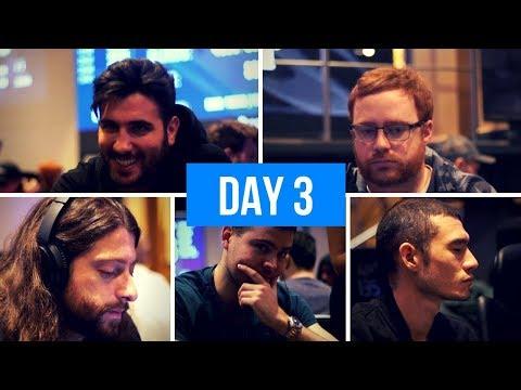 World Series of Poker Europe Main Event Day 3