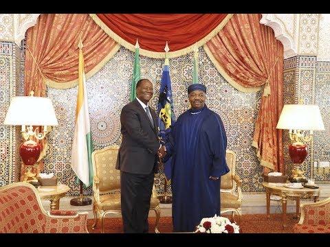 Le Président Alassane OUATTARA, a effectué une visite d'amitié et de travail au Gabon