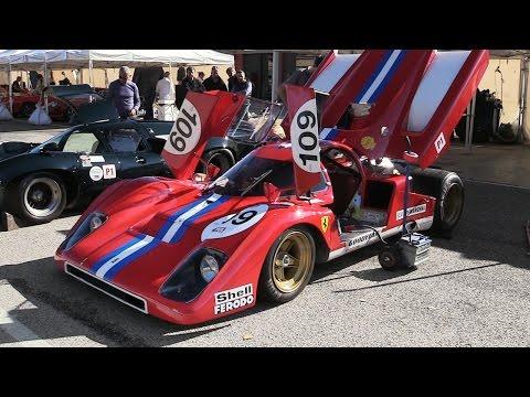 Ferrari 512 M V12 Engine MAD Awakening  Warm Up with 3D Binaural Microphone