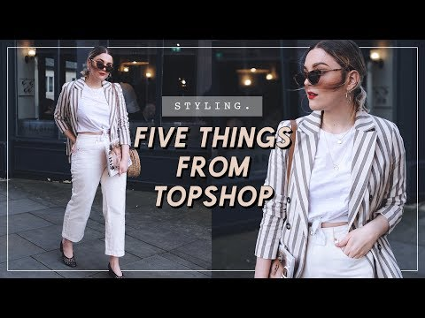 TOPSHOP HAUL + TRY ON | CAPSULE WARDROBE | I Covet Thee