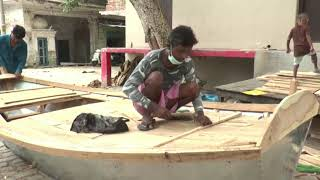 Boat makers in struggle to survive amid coronavirus pandemic in India - ANIINDIAFILE