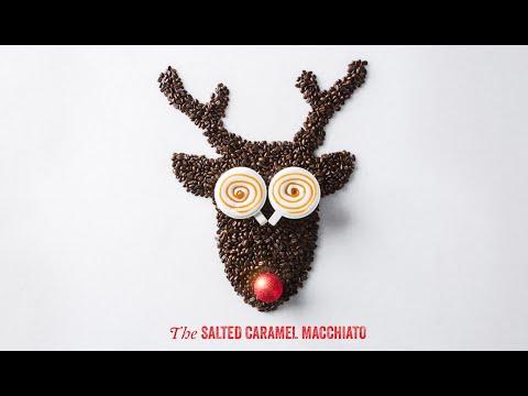 Peet's Coffee | Reindeer Bean Art