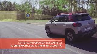 NUOVO COMPACT SUV C3 AIRCROSS: RICONOSCIMENTO LIMITI DI VELOCITA'