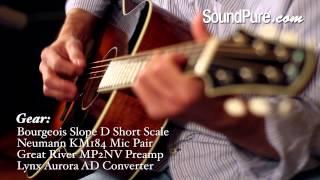 Bourgeois Slope D Adirondack Short Scale Acoustic Guitar
