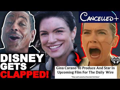 Huge BACKFIRE! Gina Carano DESTROYS Disney Star Wars! Mandalorian Actress FIGHTS BACK Lucasfilm!