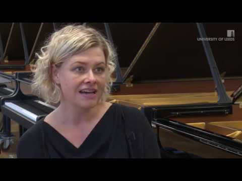 Dr Karen Burland visits the Steinway factory