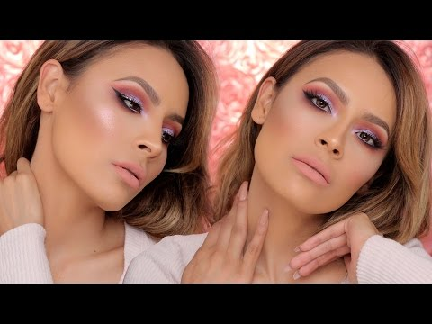 ROSY LILAC MAKEUP TUTORIAL | DESI PERKINS