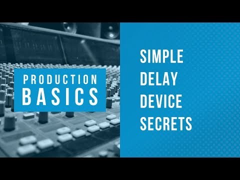 Ableton Live Production Basics 08 | Simple Delay Pitch Riser FX Tutorial
