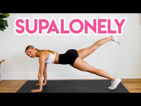 BENEE - Supalonely ft. Gus Dapperton ABS WORKOUT ROUTINE