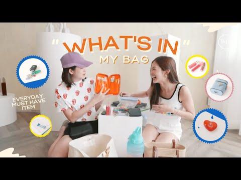 What's-in-my-bag-👀🧳✨-|-เปิดกระ