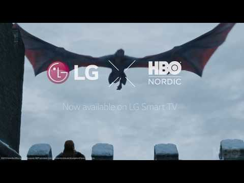 HBO Nordic is now available on LG TVs! (No sound)