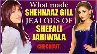 What made Shehnaaz Gill JEALOUS of Shefali Jariwala I Checkoput to know more I TellyChakkar I - TELLYCHAKKAR