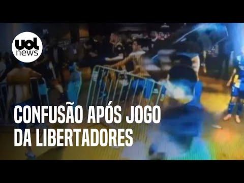 Eliminação do Boca Juniors da Libertadores causa quebra-quebra no Mineirão