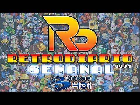 RetroDiario Semanal Bunker 401 #0004 Noticias Retro 8-15 Octubre