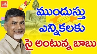 Chandrababu's TDP Ready for Early Elections