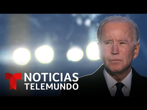 Joe Biden rinde homenaje a las 400,000 víctimas de la pandemia