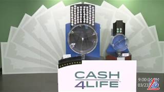 Sorteo del 23 de Marzo del 2020 (Cash4Life, Cash 4 Life, Cash Four Life, CashFourLife)