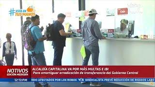 Alcaldía de Managua pretende incrementar recaudaciones por multas e Impuesto de Bienes Inmuebles