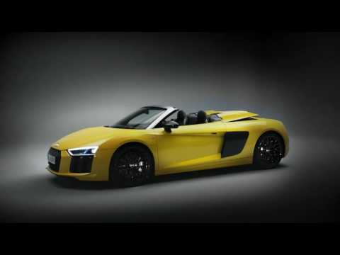 La nouvelle Audi R8 Spyder V10