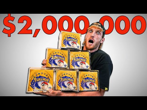 I Spent $2,000,000 On Pokémon Cards