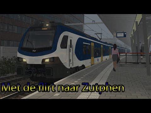 Poah, zo vaak heb ik nooit mogen toeteren!! - Train Simulator 2019