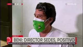 Director del Sedes de Beni dio positivo por coronavirus y es aislado
