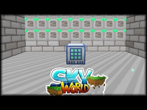 connectYoutube - 20x Tier 5 Cobblestone Genrator | Minecraft SkyWorld #38 | Minecraft Modpack