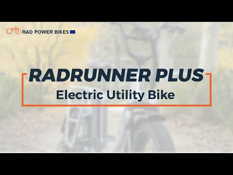 RadRunner Plus Electric Utility Bike | European Technical Overview