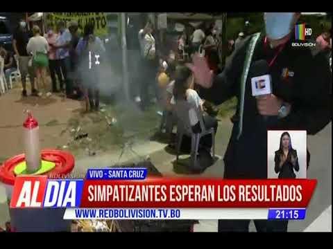 Santa Cruz: instalan vigilia en el tribunal electoral con cánticos y oraciones