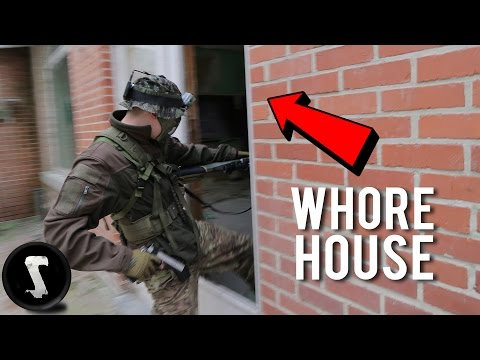 Airsoft at an Abandoned Whore House