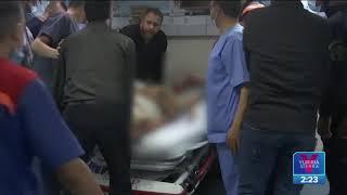 Suman tres días de bombardeos en la Franja de Gaza   Noticias con Yuriria Sierra