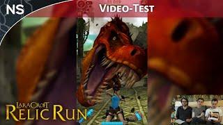Vidéo-Test Lara Croft Relic Run par The NayShow