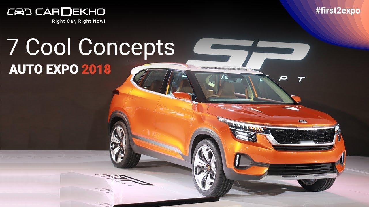 7 Cool Concepts @ Auto Expo 2018 | CarDekho.com