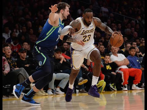 Luka Doncic 27 PTS, 9 REB, 10 AST) vs. LeBron James (25 PTS, 9 REB, 8 ASTS) Duel In LA