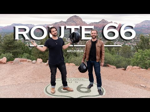 Route 66 Motorcycle Road Trip |  Arizona Cowboys, Hot Rods & Diners