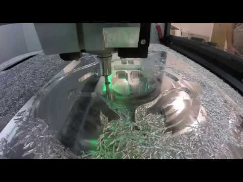 Adaptive Clearing with DATRON 8mm End Mill