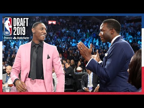 RJ Barrett Selected 3rd OVERALL! | 2019 NBA Draft