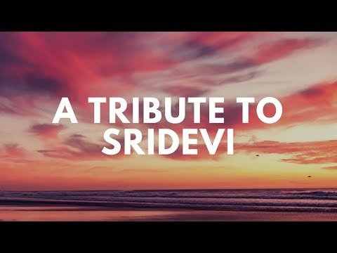 A Tribute to Sridevi by Jugalbandiyan | Mashup | 80