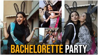 Kajal Agarwal Bachelorette Party | Actress Kajal Aggarwal BRIDE TO BE | #KajalAgarwal | TFPC - TFPC
