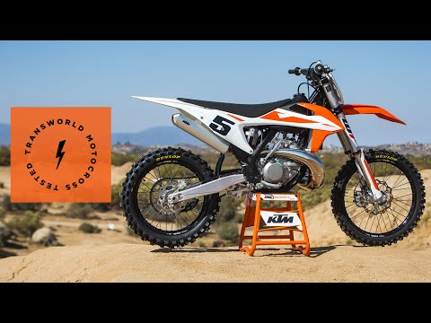 Technical Briefing Of The 2019 KTM 250 SX