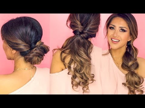 ❌  1-MINUTE LAZY HAIRSTYLES | EASY EVERYDAY UPDOS for Long ❌  Medium HAIR